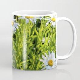 Sunny Face Daisies Coffee Mug