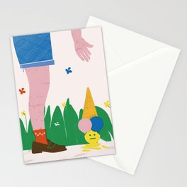 SUMMERTIME BLUES Stationery Cards
