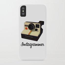 instagrammer iPhone Case