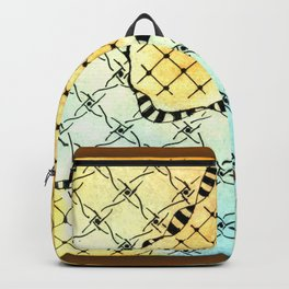 abstract biological illustration Backpack