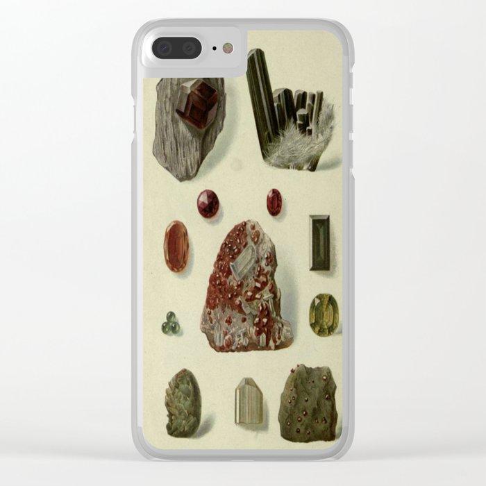 Garnet Minerals Clear iPhone Case