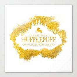 Hufflepuff Canvas Print