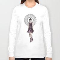 dress Long Sleeve T-shirts featuring Dress by Filip Postolache