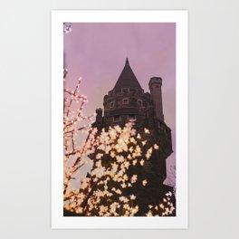 Castle at Dusk Art Print