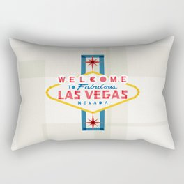 Las Vegas Rectangular Pillow