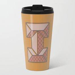 BOLD 'I' DROPCAP Travel Mug