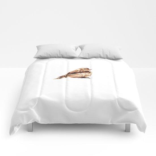 Snow Bunting Comforters