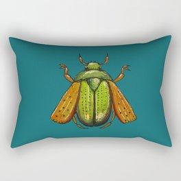 Beetle Wings Rectangular Pillow