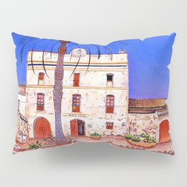 Joan Miro House with Palm Tree Pillow Sham