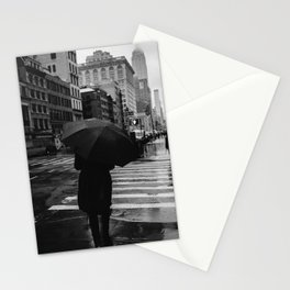 Rainy New York IX Stationery Cards