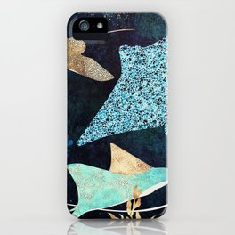 Metallic Stingray II iPhone Case