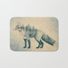 Fox and Forest - Shrinking Forest Bath Mat