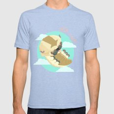 Appa - Avatar the legendo of Aang SMALL Tri-Blue Mens Fitted Tee