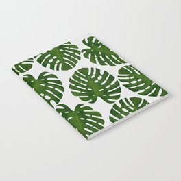 Monstera Leaf III Notebook