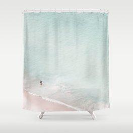 The Black Bikini Shower Curtain