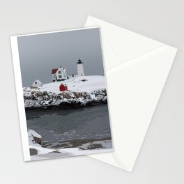 Nubble in Winter Stationery Cards