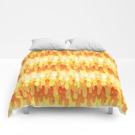 Candy Corn Slime Comforters