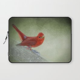 Song of the Summer Tanager 4 - Birds Laptop Sleeve