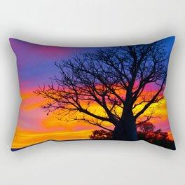 Pinks  n Purples thu Boab Rectangular Pillow