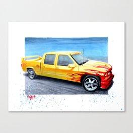 Pussywagon Canvas Print