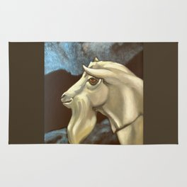 Night of The Billy Goat Rug