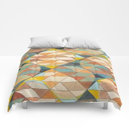 Triangles and Circles Pattern no.23 Comforters