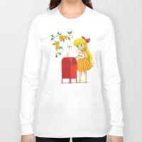 sailor venus Long Sleeve T-shirts featuring Retro Sailor Venus by Crimson Pumpkin