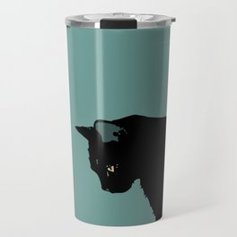 Blue Cat Travel Mug