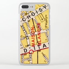 All About Paris IV Clear iPhone Case