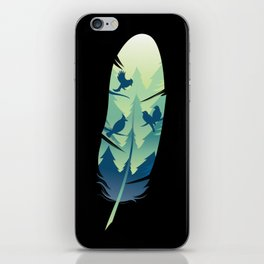 Feather Soul iPhone Skin