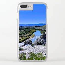 Rio Grande at Big Bend NP Clear iPhone Case
