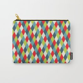 vintage  rhomb  Carry-All Pouch