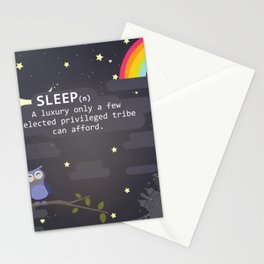 Sleep ~ A Luxury Stationery Cards