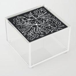 Chalk Florals Acrylic Box