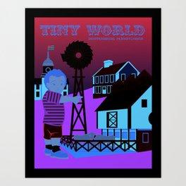 Tiny World Art Print