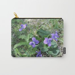 wild violets Carry-All Pouch