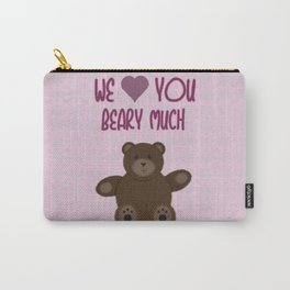 We Beary Love Carry-All Pouch