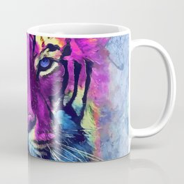 tiger purple spirit #tiger Coffee Mug