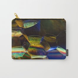 Green Bubbles Carry-All Pouch