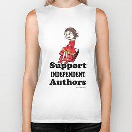 Support Independent Authors Biker Tank