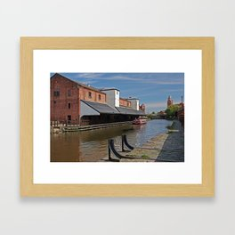 the real wigan pier Framed Art Print