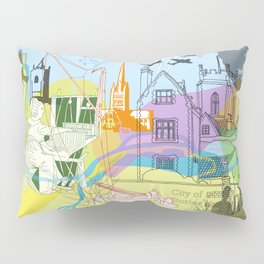 Norwich- City of Stories Pillow Sham