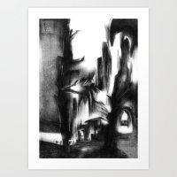 Procession Art Print
