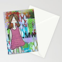 Playful in Pink Stationery Cards