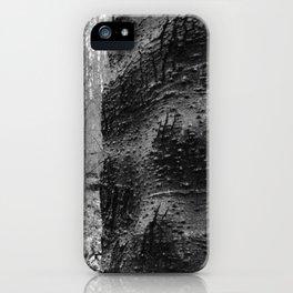 Cracked Bark on a Knobby Tree iPhone Case
