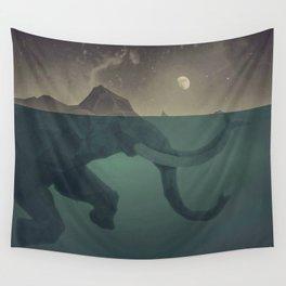 Elephant mountain Wall Tapestry
