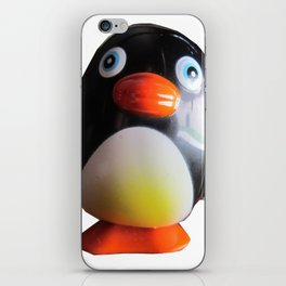 Waddles Alone iPhone Skin
