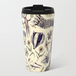 Hufflepuff, Loyal and True Travel Mug