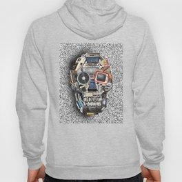 retro tech skull 5 Hoody