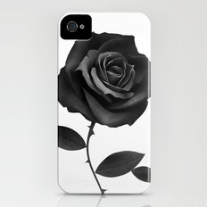 Fabric Rose iPhone (4, 4s) Slim Case
